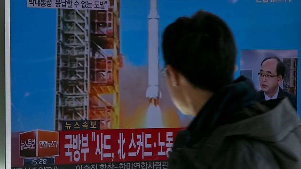 North Korea has fired another ballistic missile, Seoul says