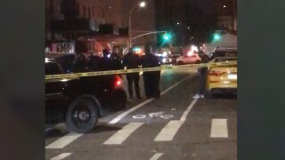man shot cab queens
