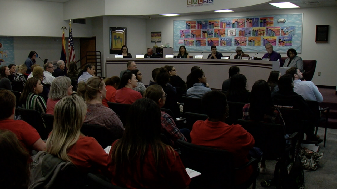 BALSZ school board responds to teachers rallying for raises