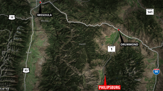 1 person killed, 3 hurt in crash near Philipsburg