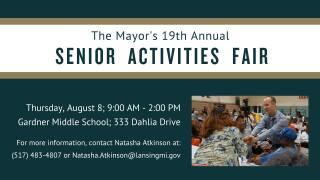 Senior Activities Fair