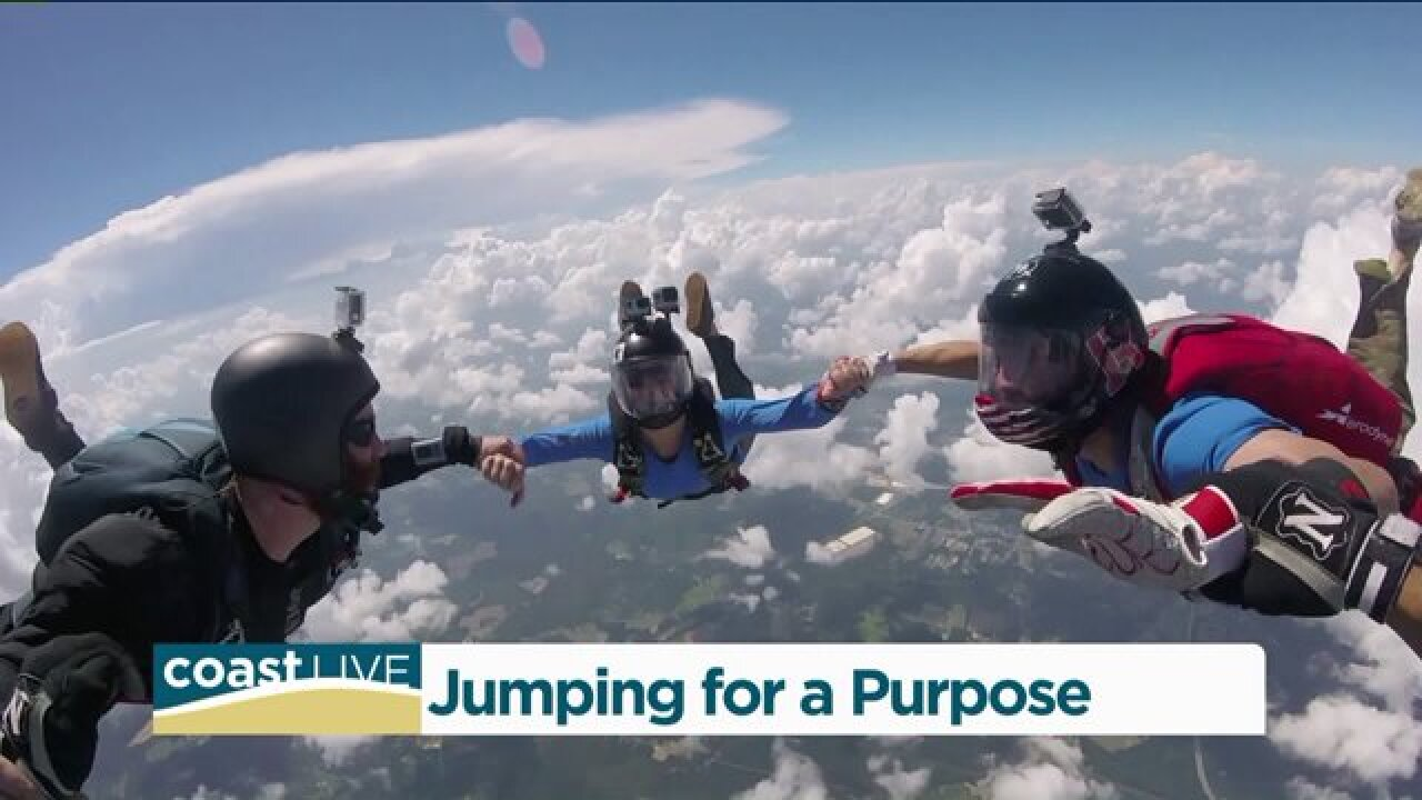 Coast Live meets a skydiving vet jumping to helpothers