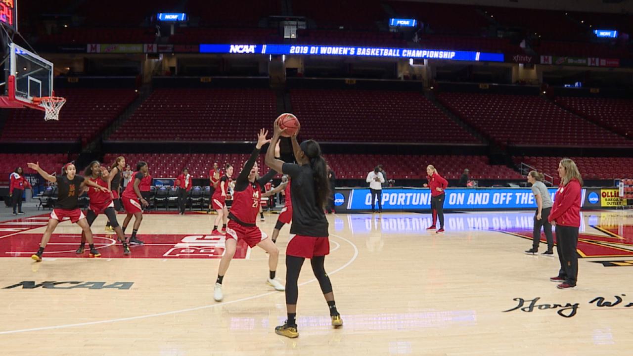 Terps women's basketball