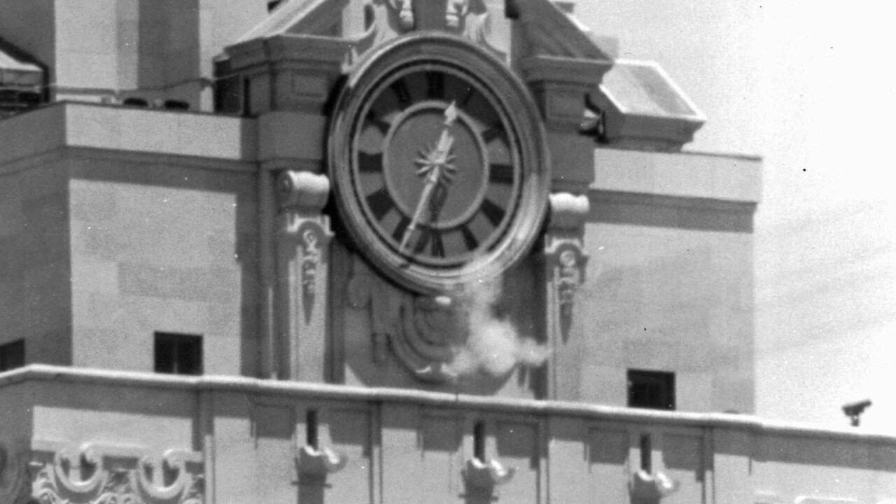 UT clock tower shooting