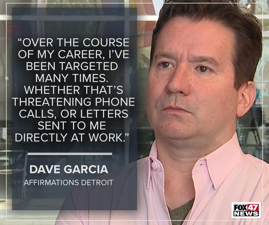 Dave Garcia, Affirmations Detroit