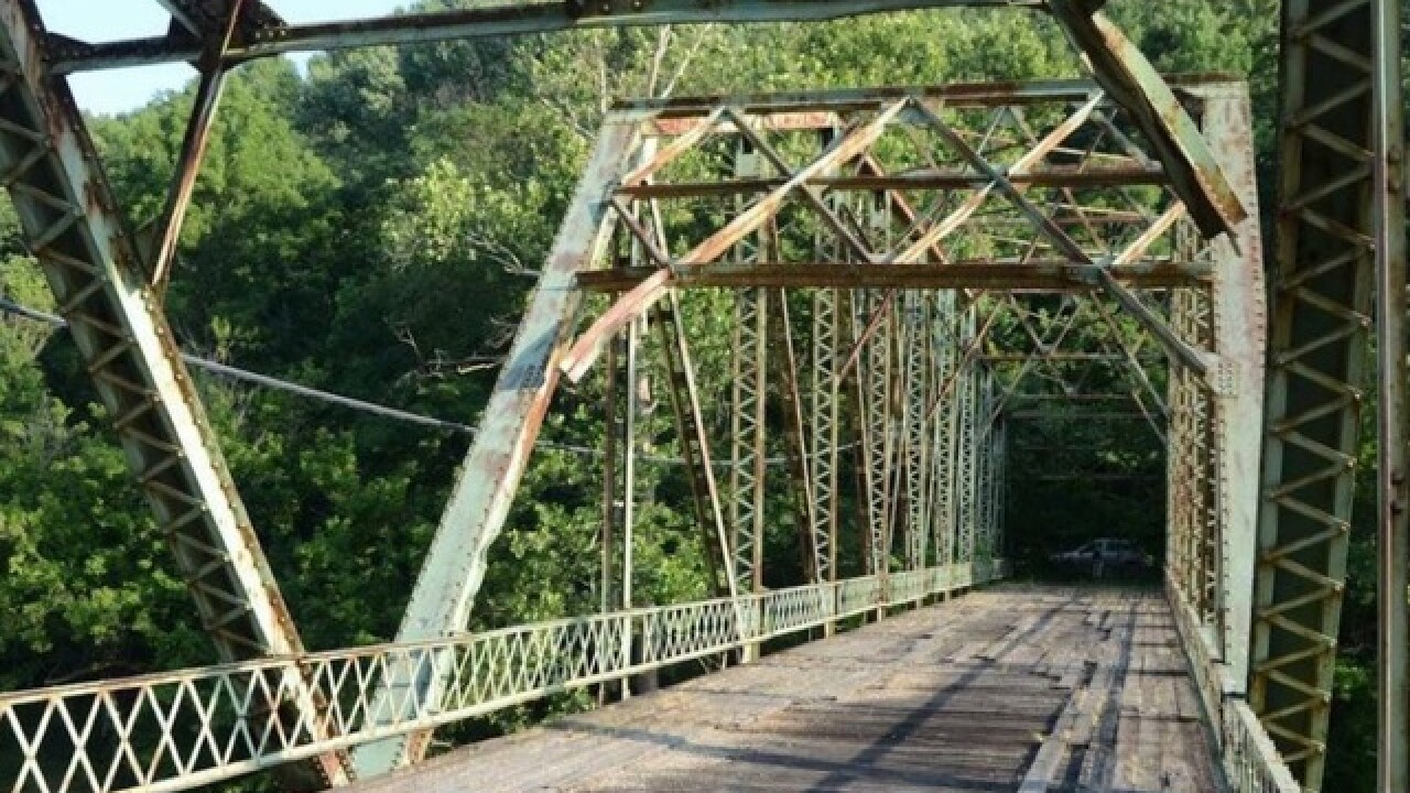 Long-closed WWII-era bridge finally coming down