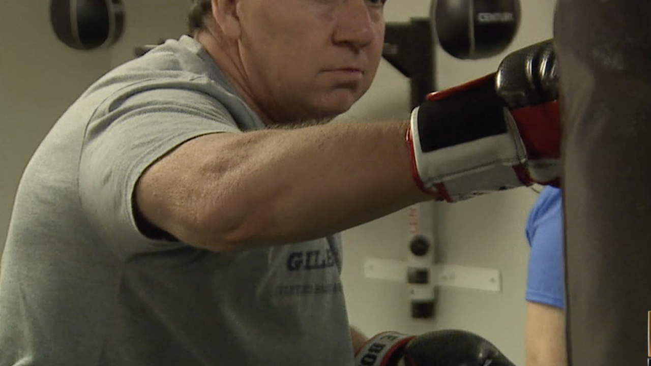 Valley Boxing gym fights against Parkinson's