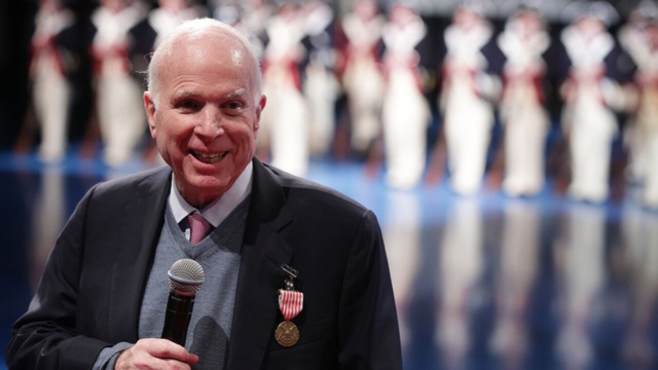 McCain memorial events in Ariz., around country