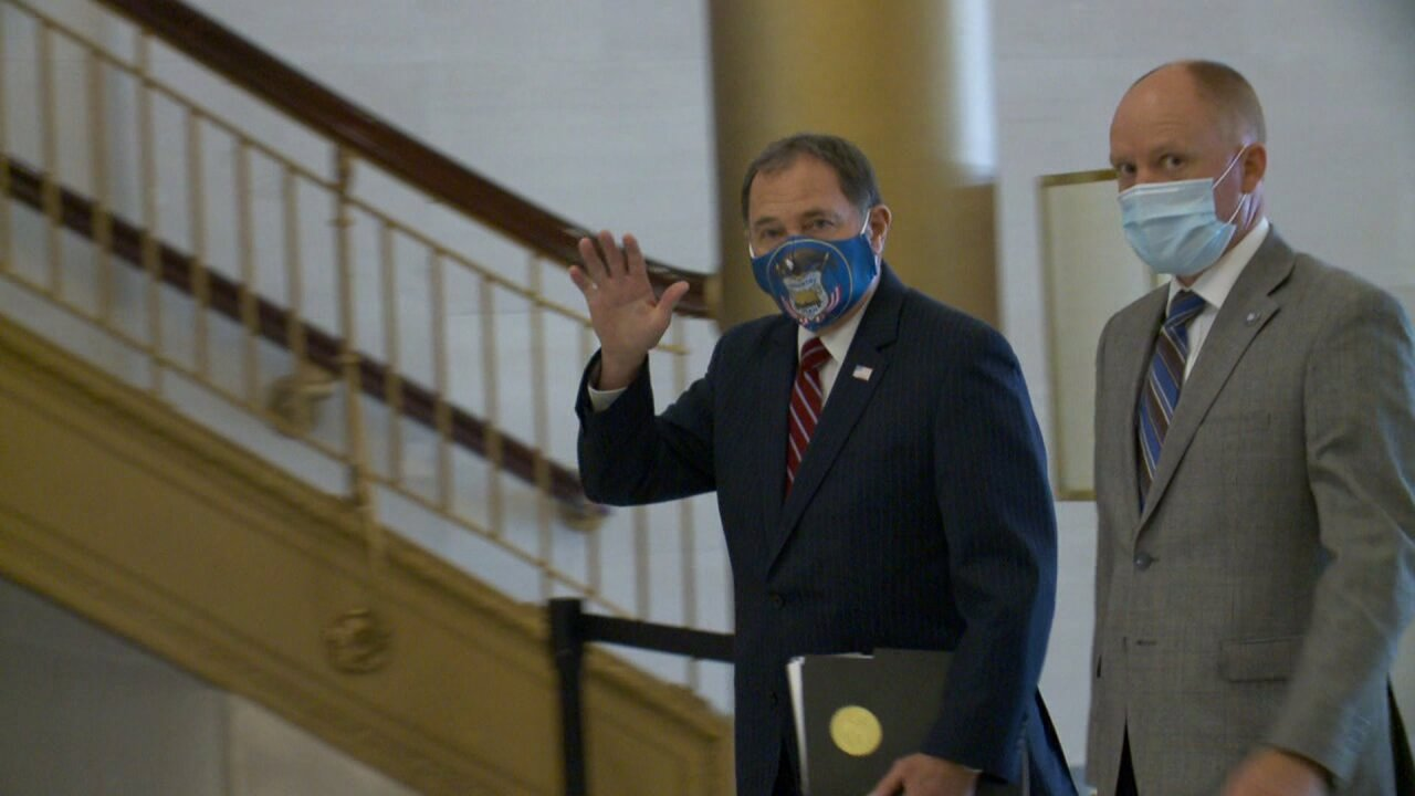 Governor Gary Herbert face mask