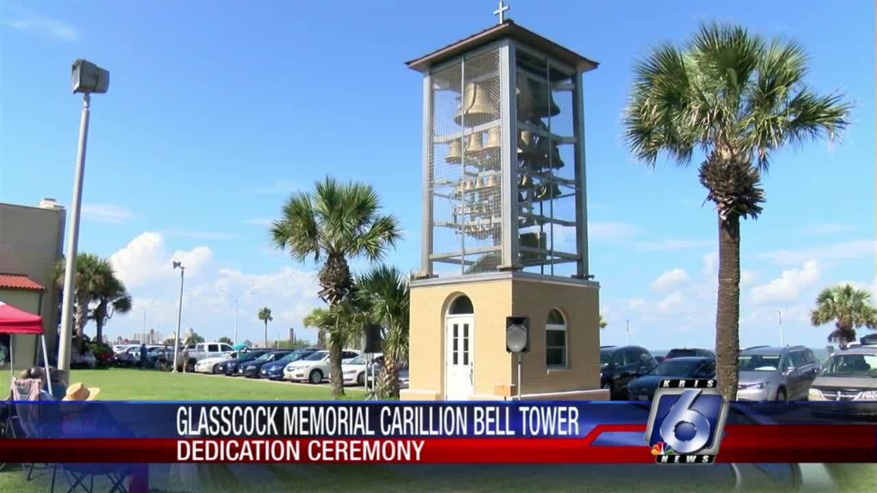 New bell tower at First Baptist Church of Corpus Christi