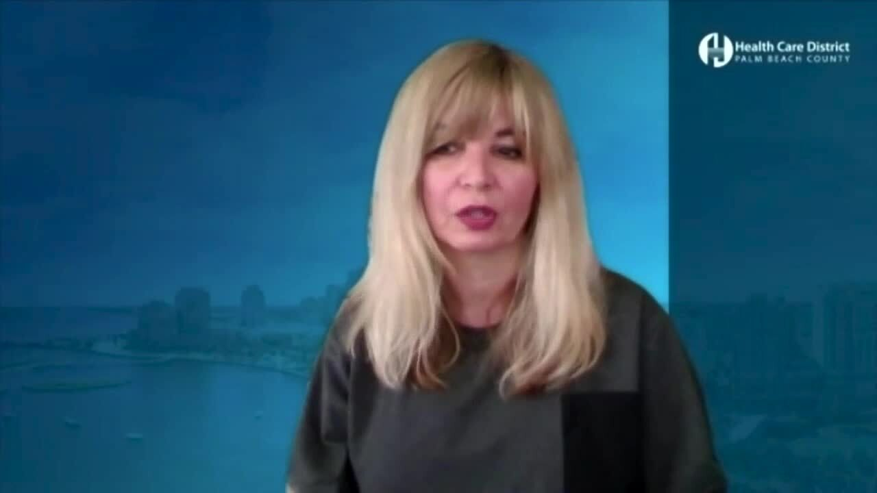 Dr. Belma Andrić on rapid testing at Palm Beach County schools