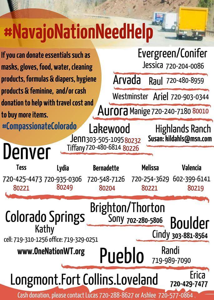 Compassionate Colorado donation hubs