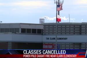 Classes canceled at T.M. Clark Elementary