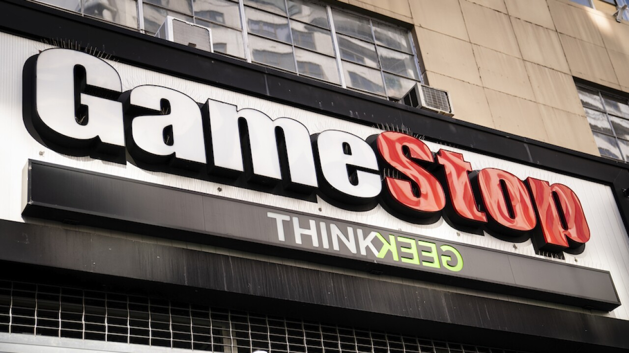 GameStop sign