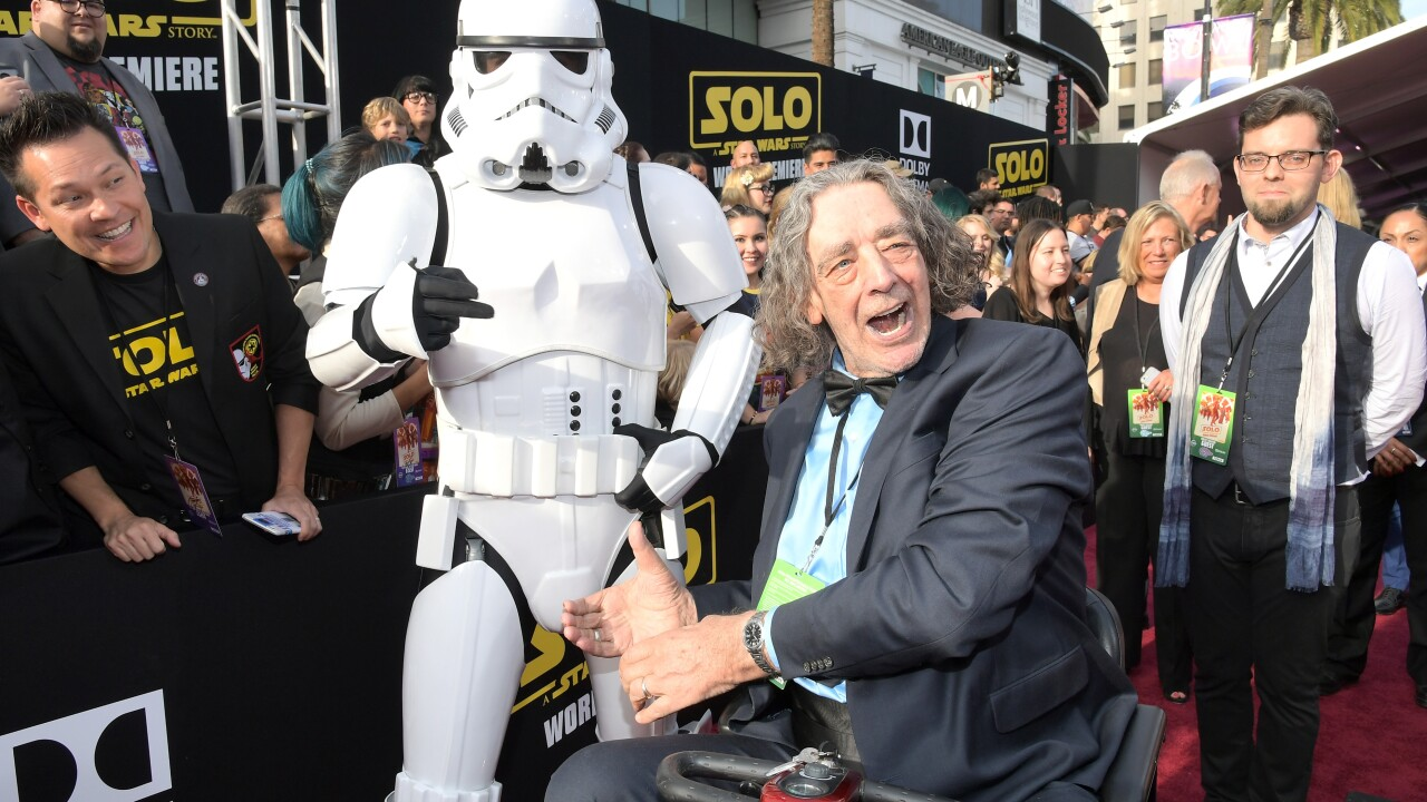 Peter Mayhew, Chewbacca actor, dies at 74