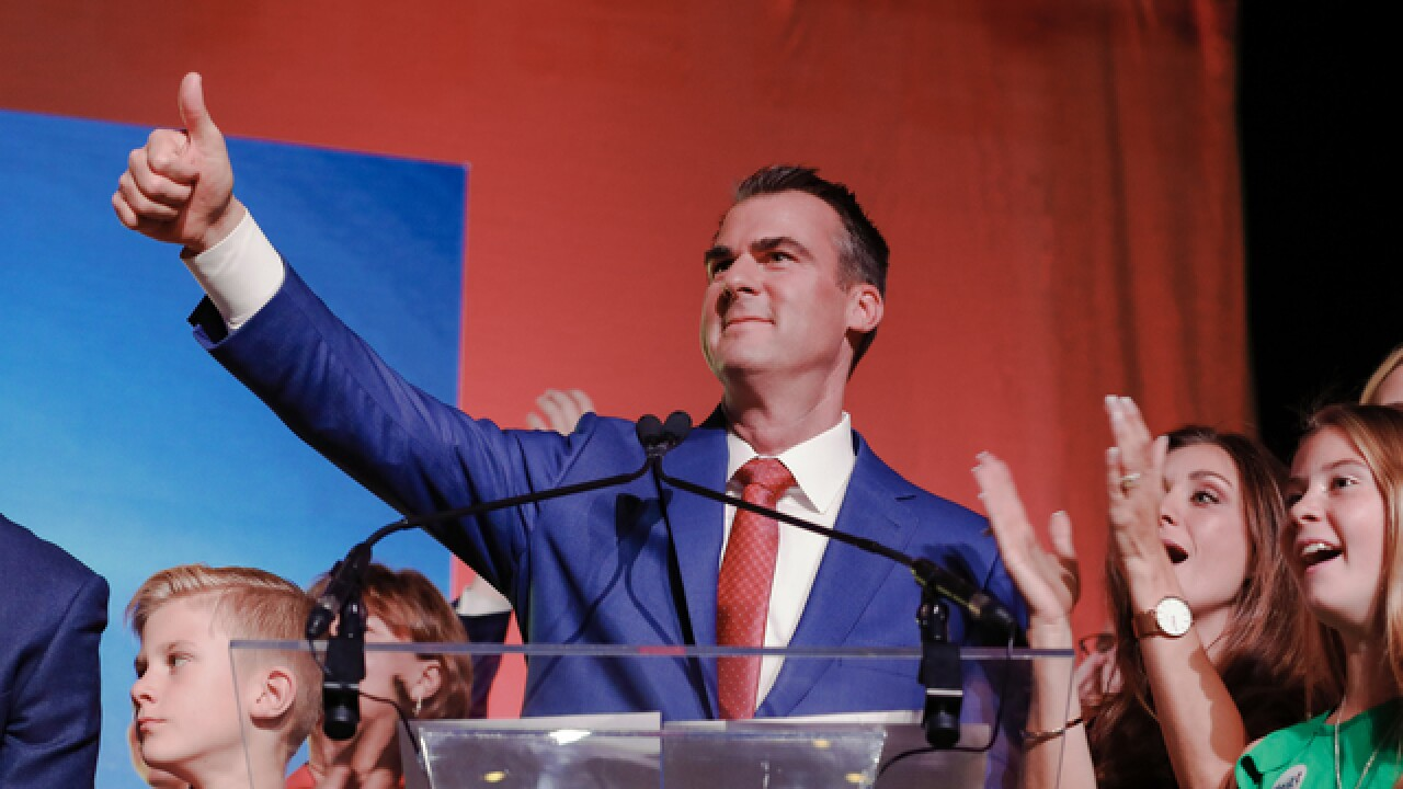 Oklahoma's new CEO governor Kevin Stitt must pivot from campaign