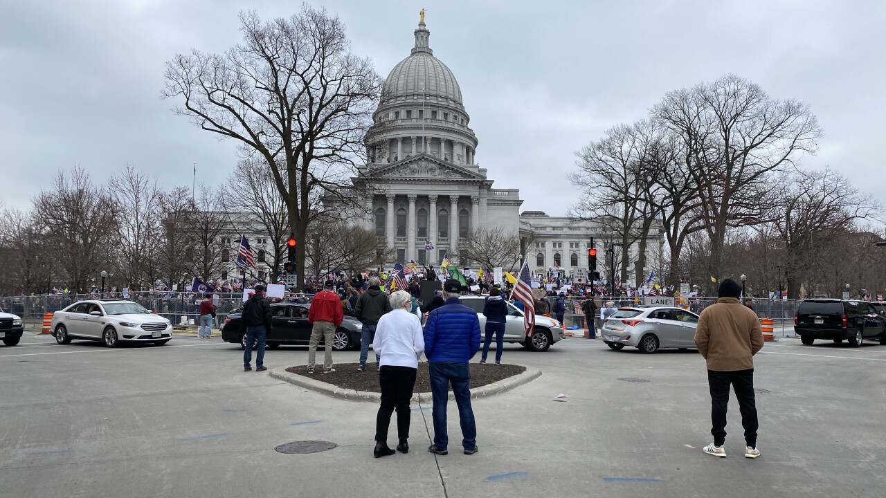 Madison Safer at Home Reopen Wisconsin rally.JPG