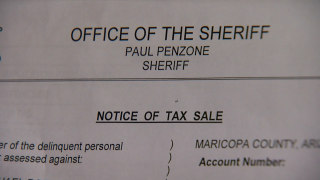 Maricopa County Sheriff Paul Penzone addresses case of veteran evicted over $221
