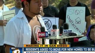 Making It In San Diego: Residents asked to move for new homes to be built