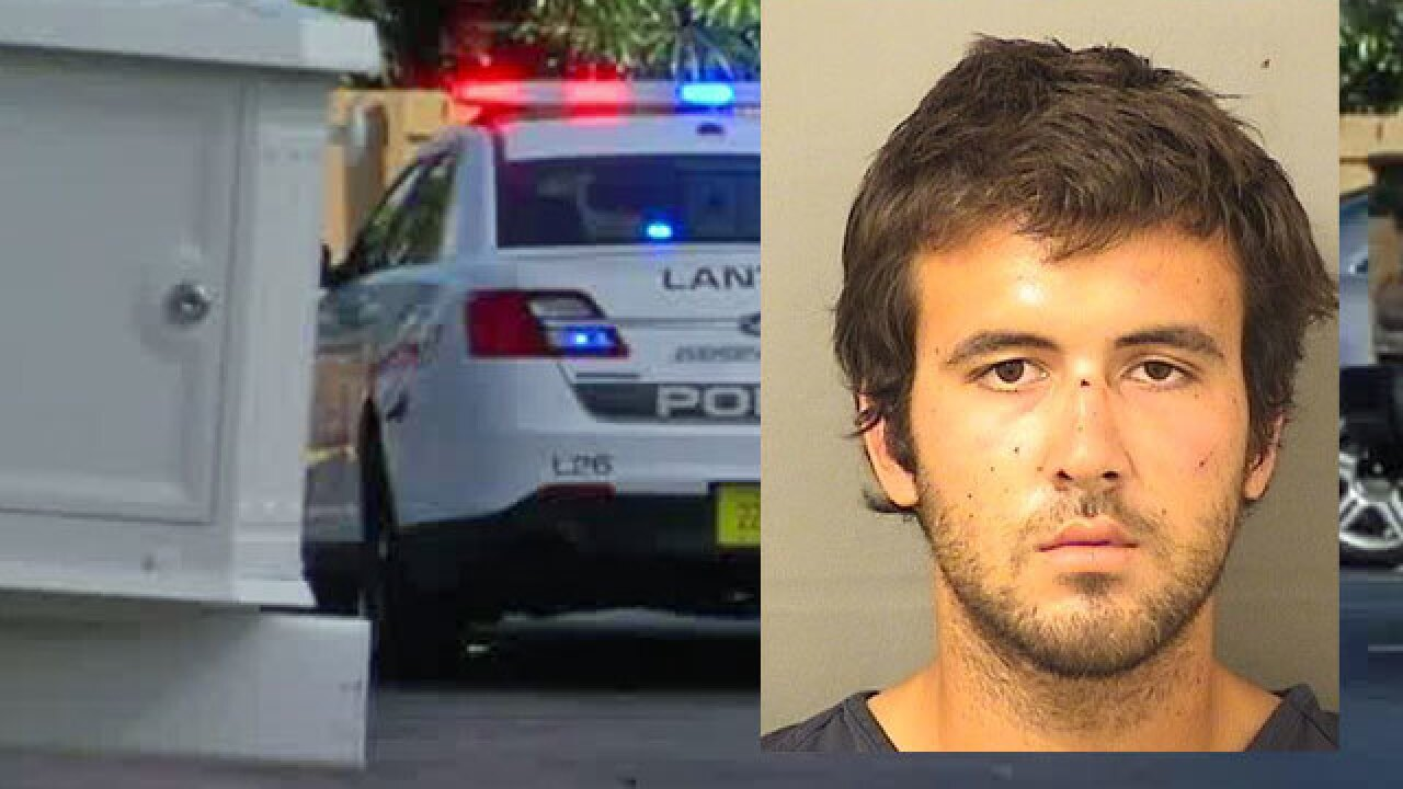 Woman randomly attacked by man with chainsaw in Lantana, suspect in custody