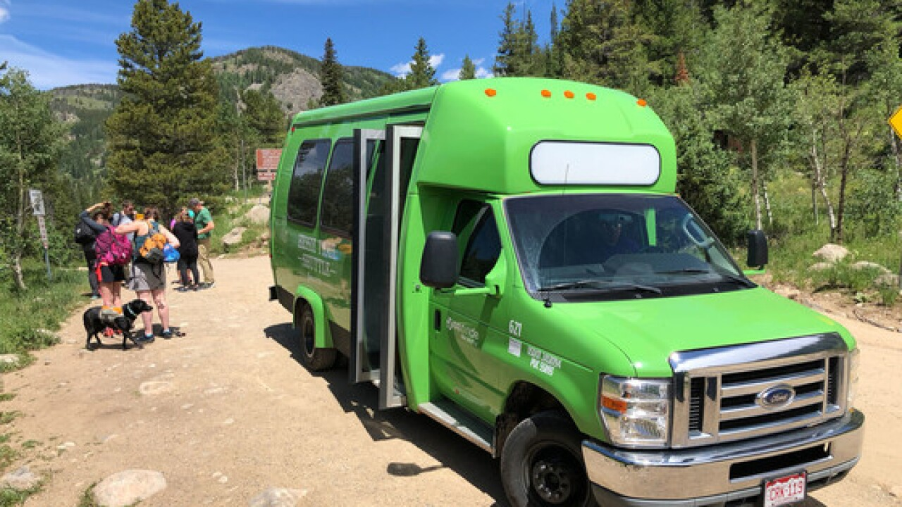 Hessie Trail Shuttle bus