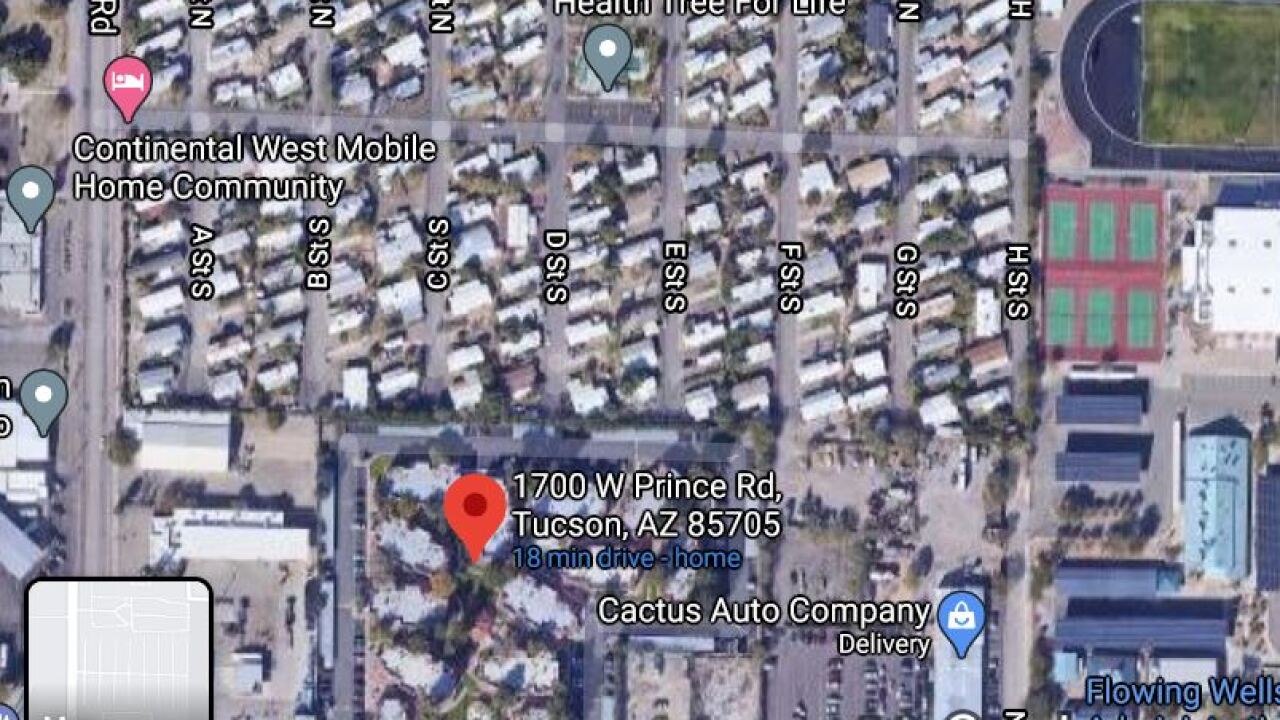 Tucson police investigated a deadly wreck in the 1700 block of West Prince Road at 10:37 p.m. Friday.