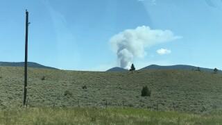 Nevada Mountain Fire 2