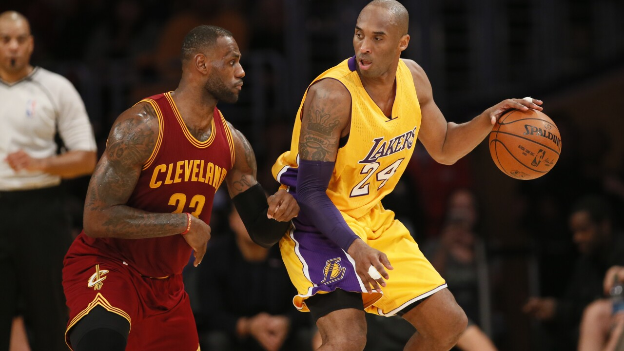 LeBron James opens up on Instagram about Kobe Bryant's death