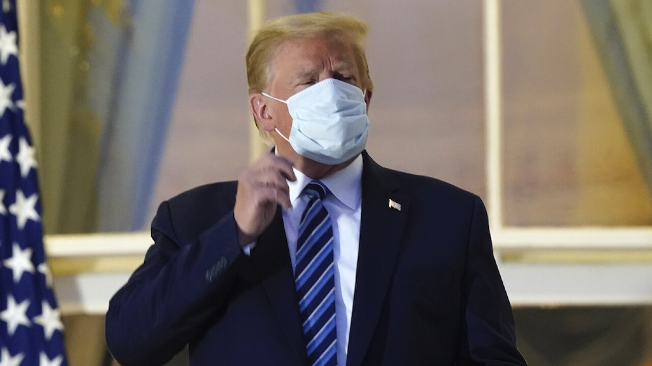 White House walks back press release that listed 'ending pandemic' among Trump's accomplishments