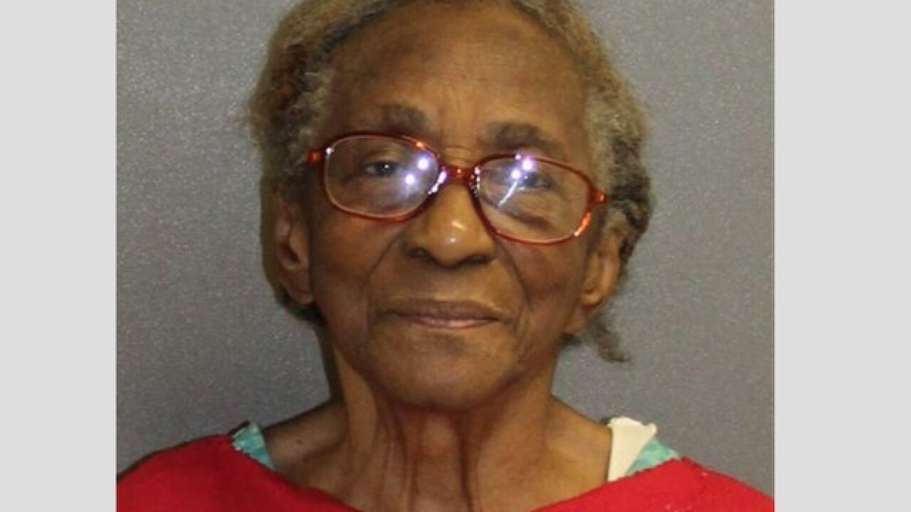 Florida grandmother, 95, arrested for slapping granddaughter with slipper, police say
