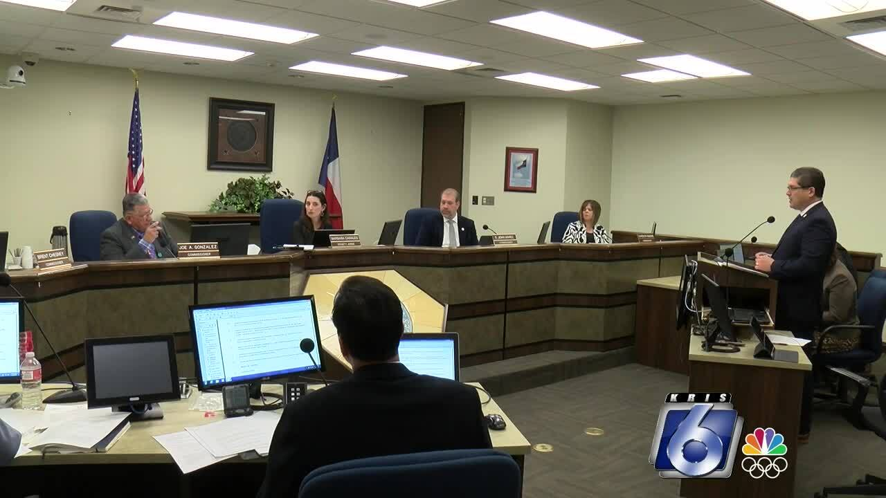 Nueces County commissioners meet