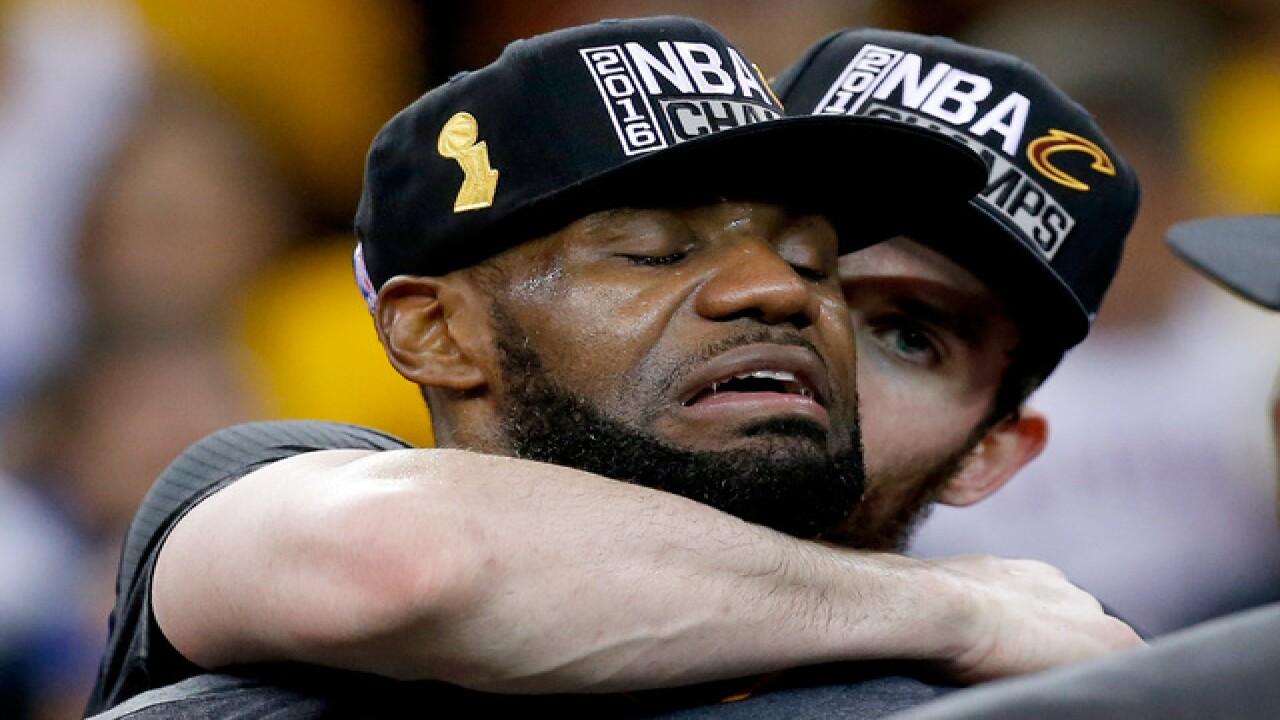 Cavs win the 2016 NBA Finals