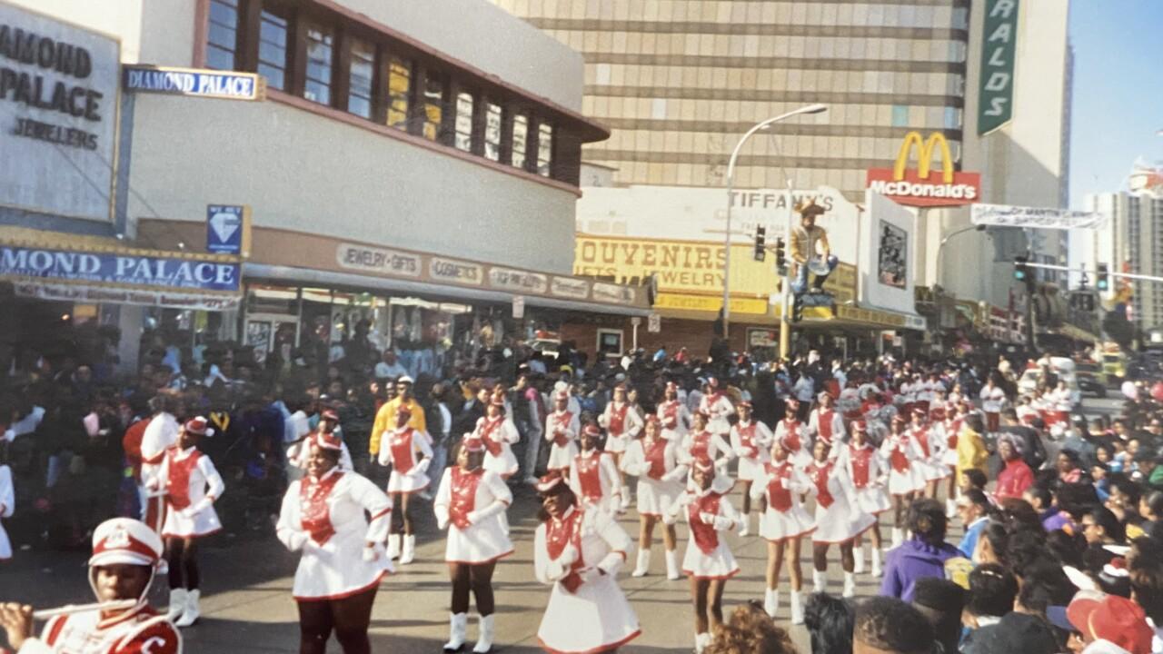MLK parade drill team