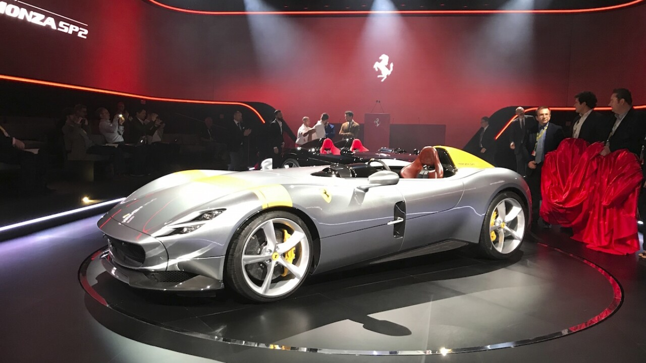 Ferrari slashes 2020 earnings forecast of COVID-19 pandemic