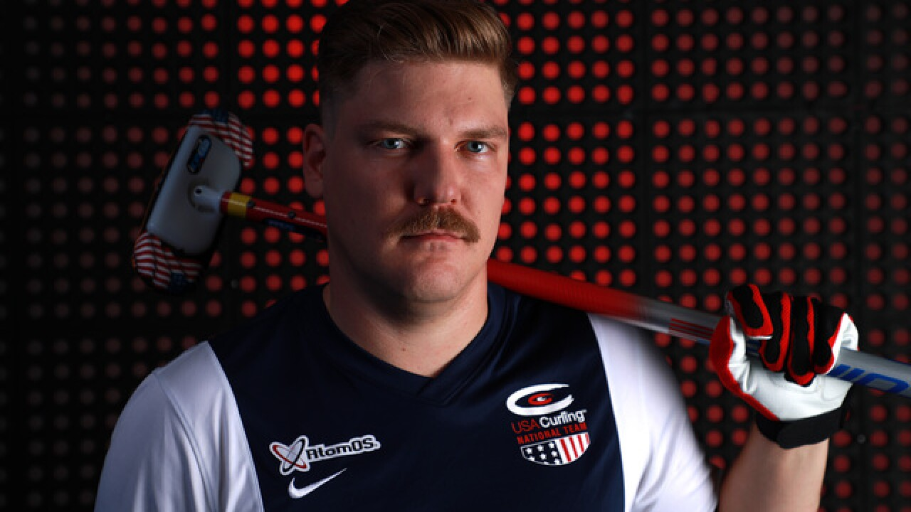 Gold Medal Curler Matt Hamilton won't announce Vikings pick at draft because he's a Packers fan
