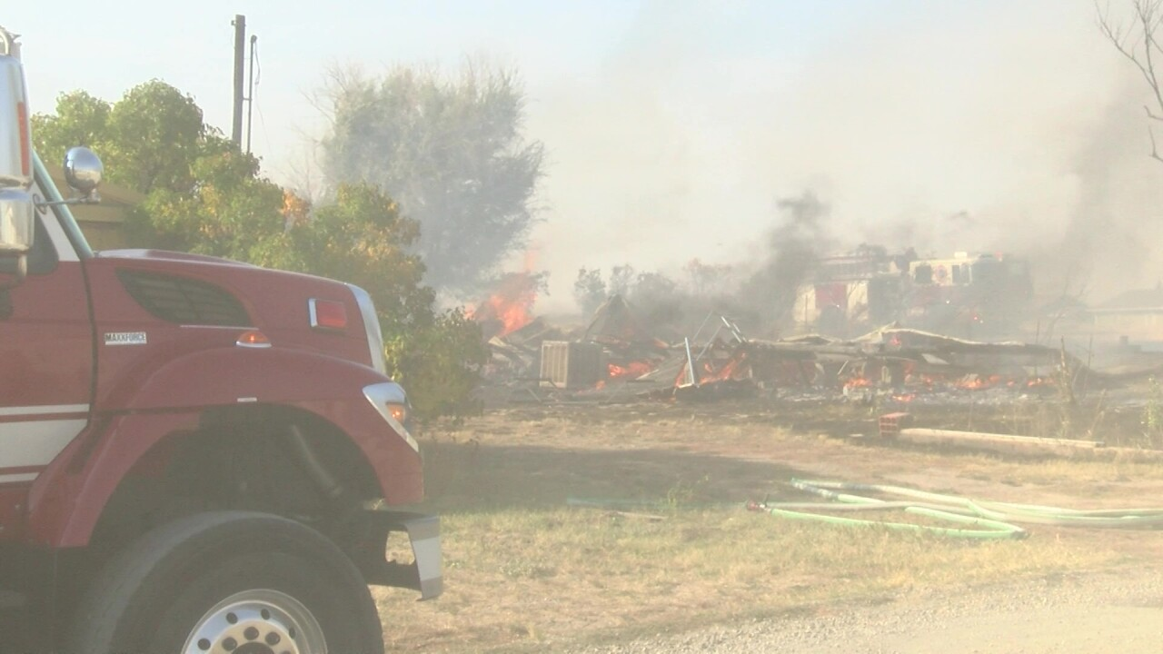 Two fires burning in Cascade County