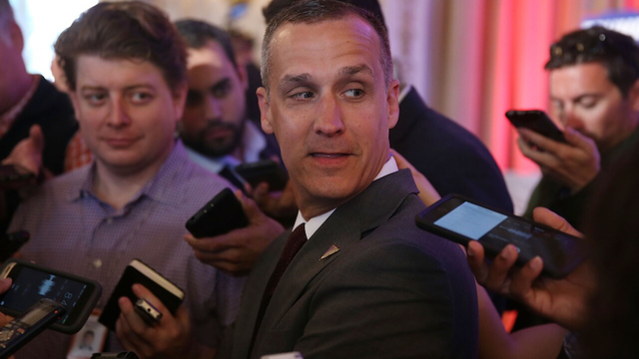 Trump campaign manager charged in battery