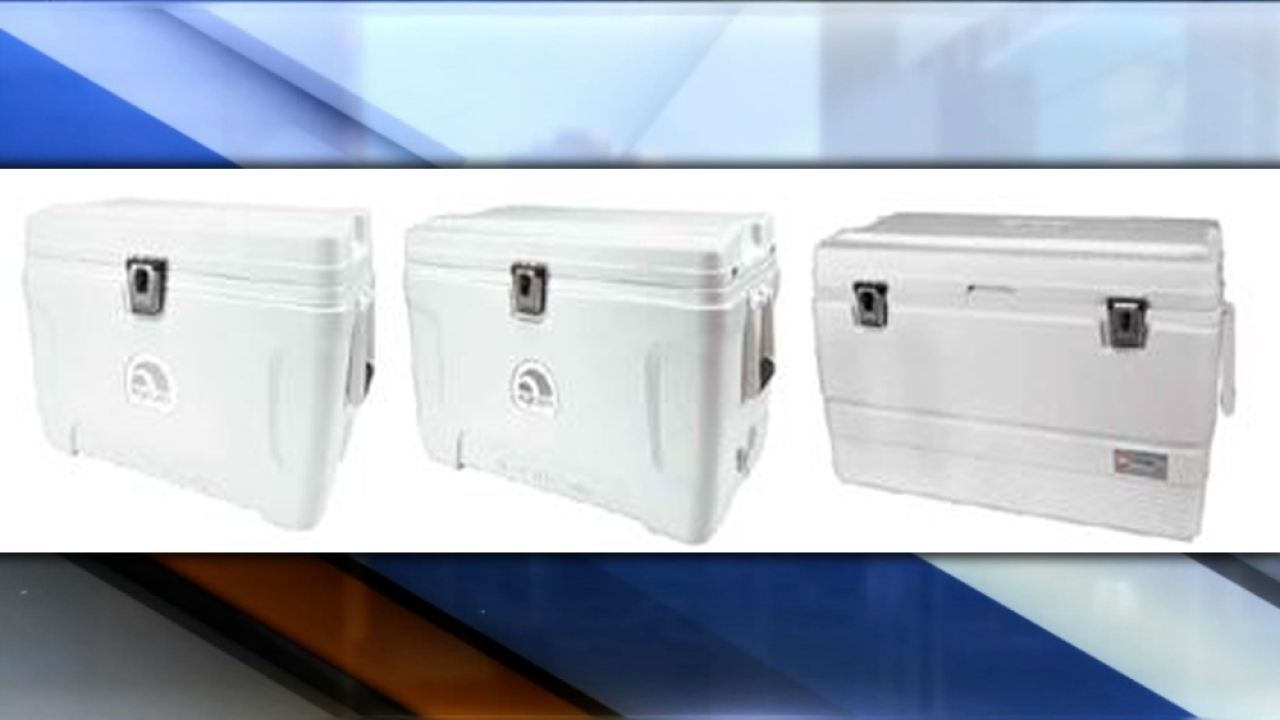 Igloo recalls nearly 60K Marine Elite coolers due to entrapment, suffocation hazards