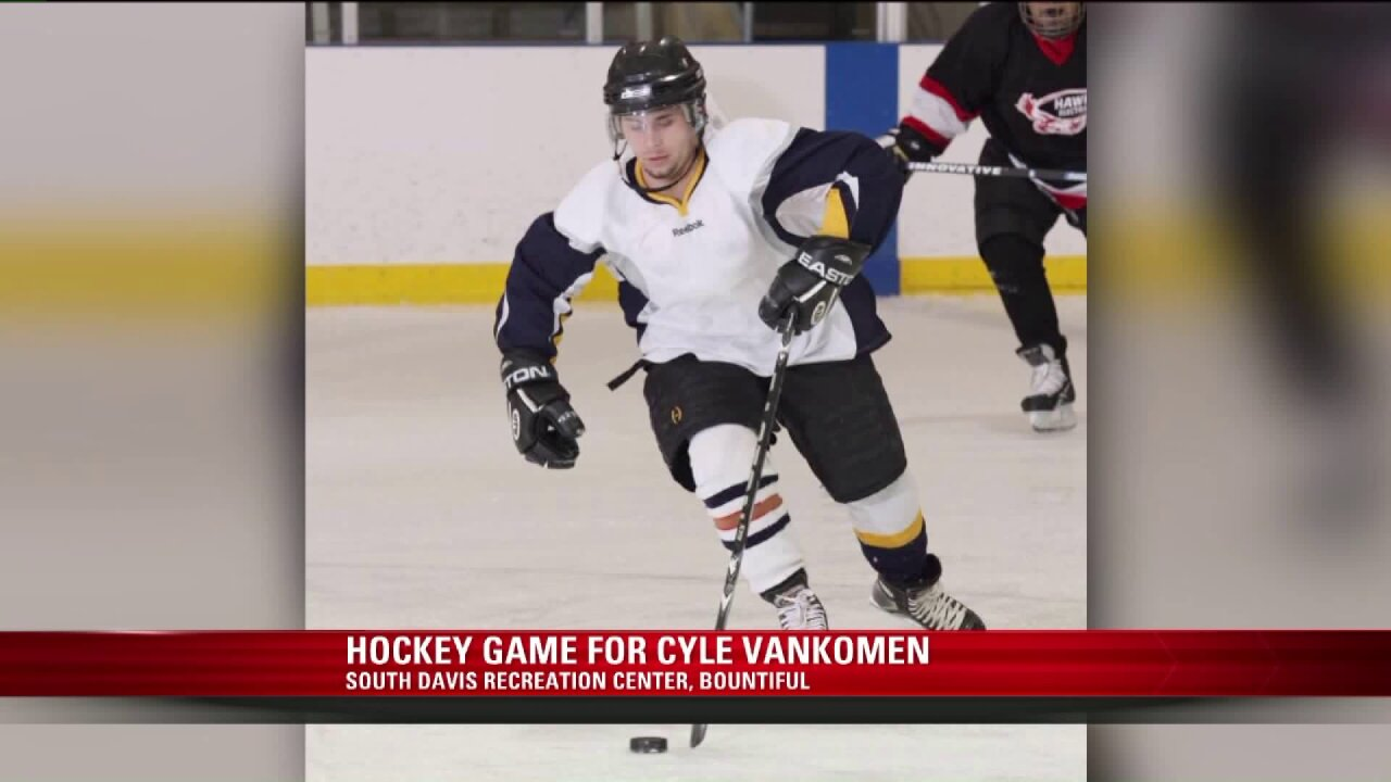 Skaters take the ice in fundraiser for lifelong hockey fan murdered in SouthOgden