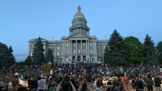 Denver protests Tuesday night