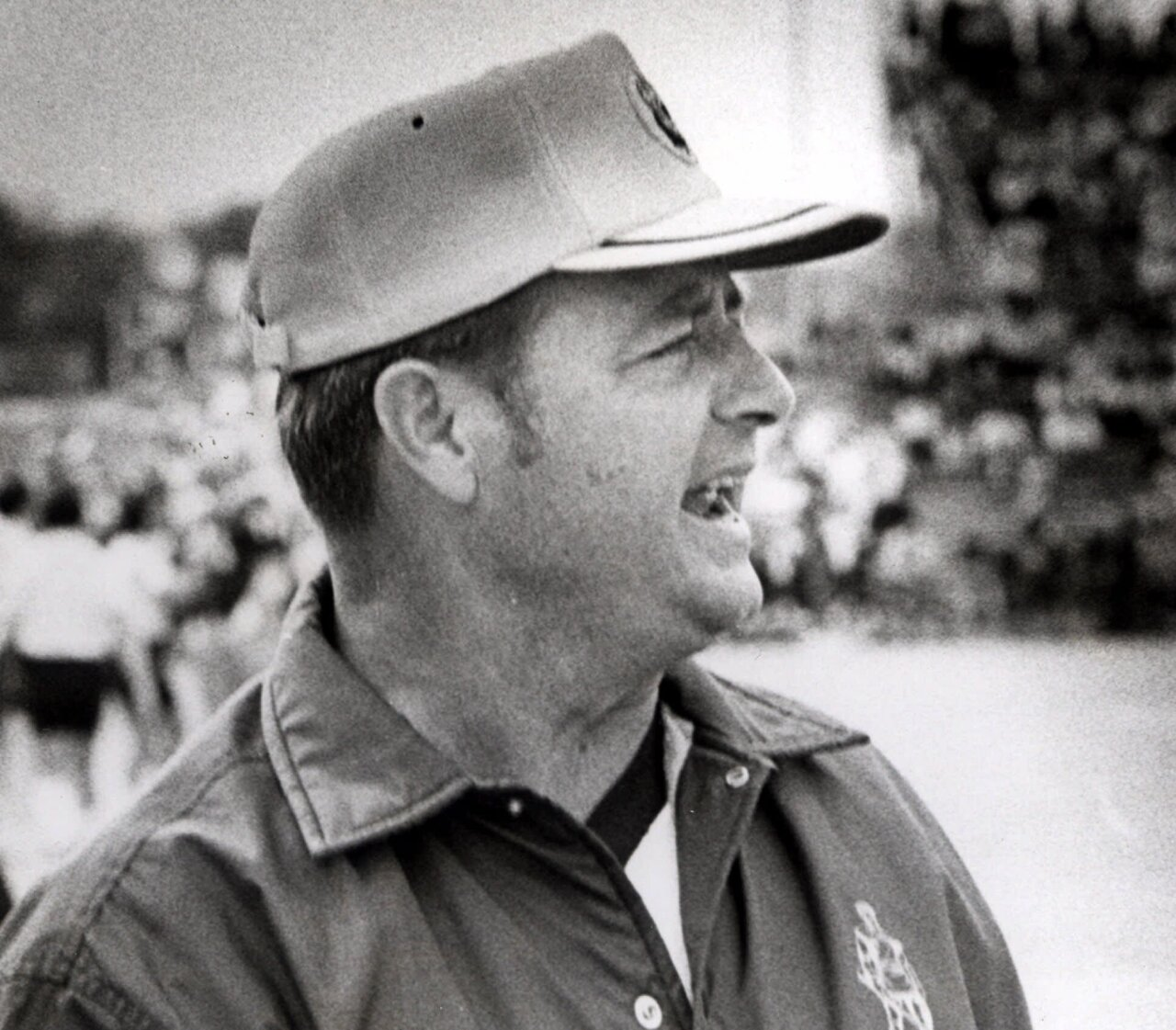 West Virginia Mountaineers head coach Bobby Bowden photographed days before leaving for Florida State Seminoles in 1976