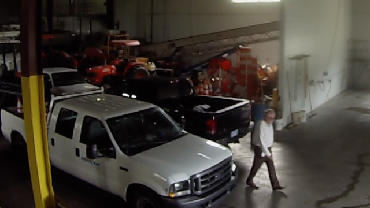Video: Merriam official caught stealing gas