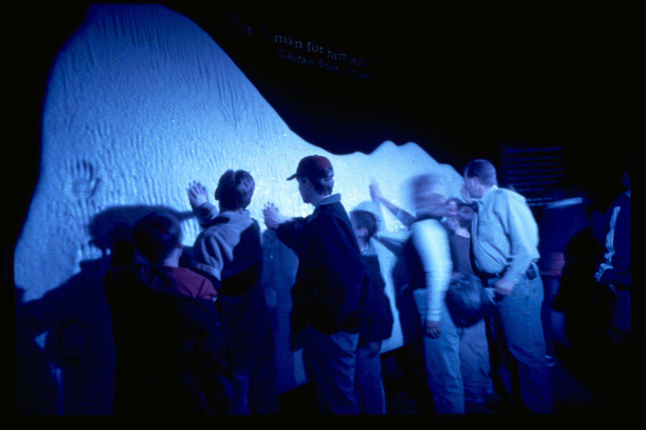 Ice Wall_Titanic the Artifact Exhibition at Luxor Hotel & Casino.jpg