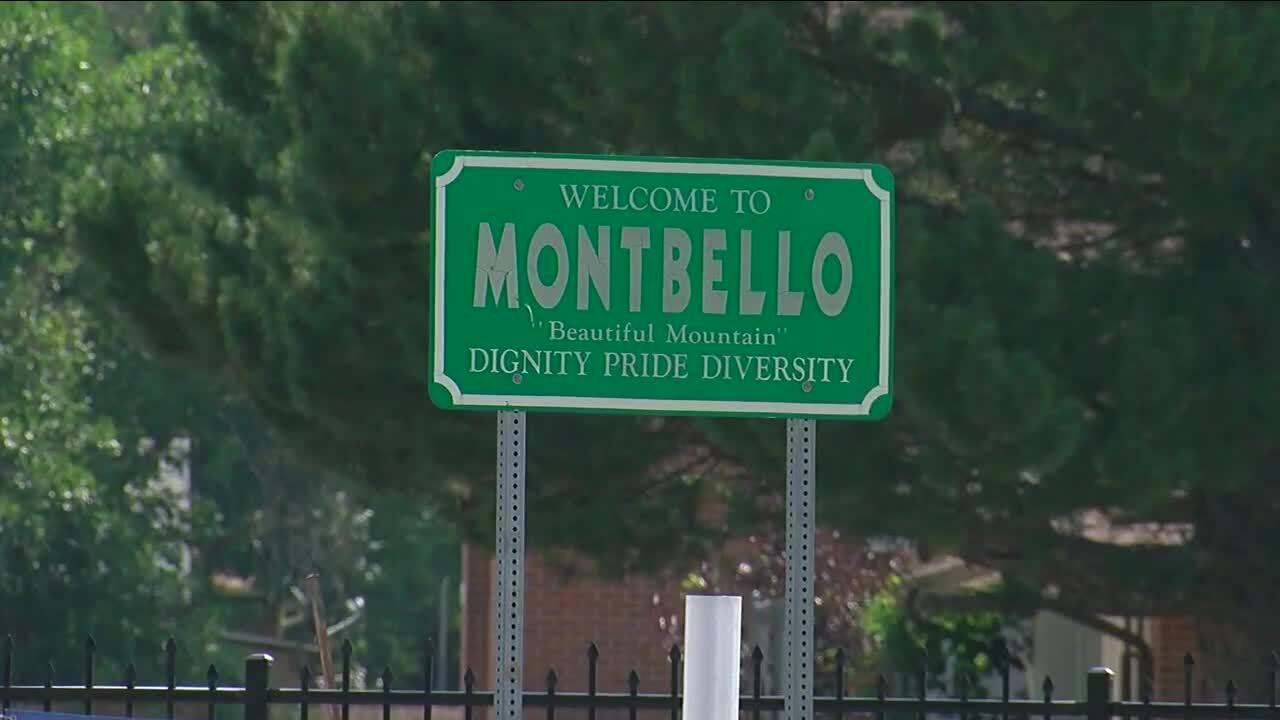 Montbello sign