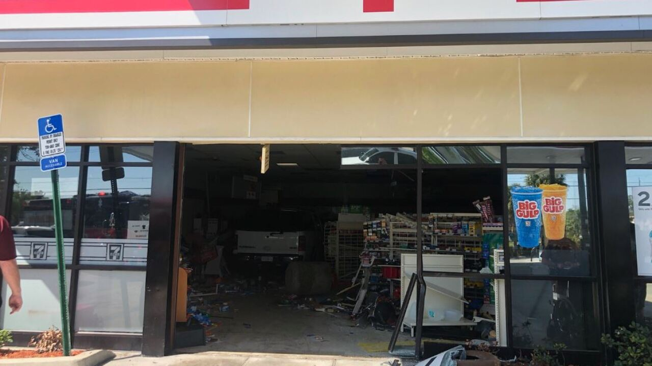 SUV in 7-Eleven in Fort Myers 3-12-19 2.JPG