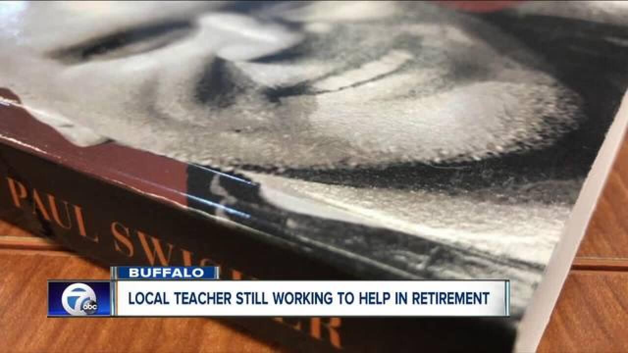 Former Buffalo teacher pens new book