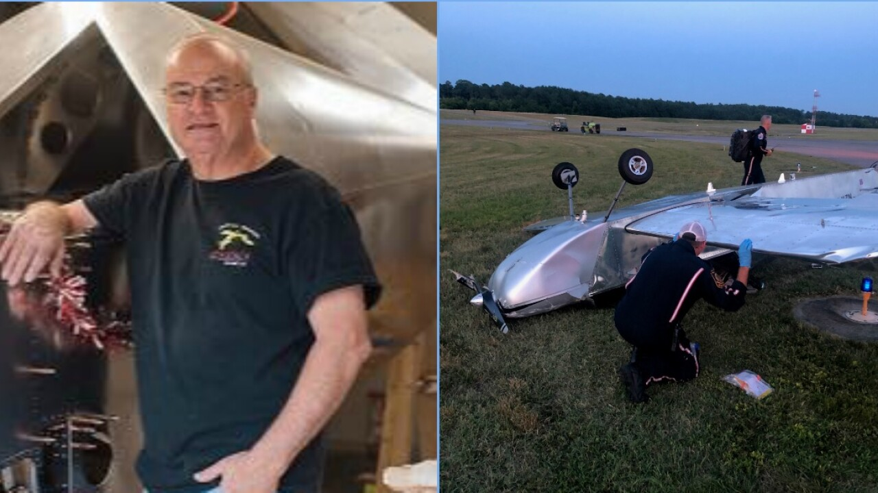 Witness: Experienced Chesterfield pilot in critical condition after 'freak accident'