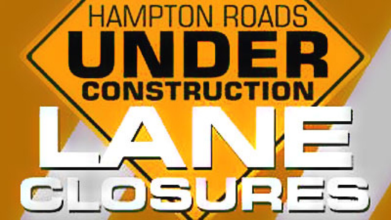 Road closures scheduled for Northampton Blvd. near Please House Rd.