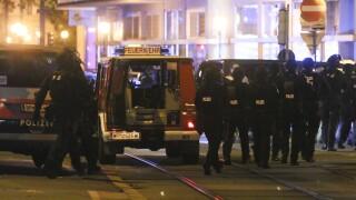 Police operation at Vienna synagogue, shots fired