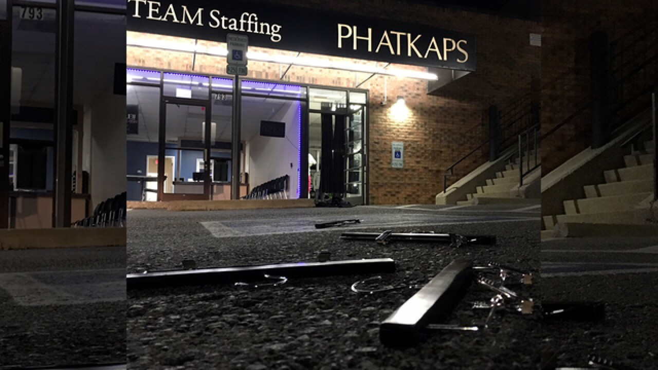 Police Investigating After Window Smashed At Phatkaps